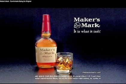 Maker's Mark Maker's Mark, facing increased demand and limited supply, had planned to reduce alchohol content to allow more more bottles to be produced. Drinkers rebelled.