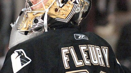 Marc-Andre Fleury Penguins goalie Marc-Andre Fleury is in a contract year.