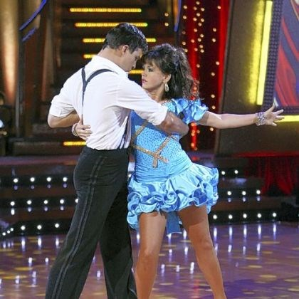 "Marie Osmond and Jonathan Roberts Marie Osmond performs a samba with partner Jonathan Roberts on ""Dancing With the Stars"" in 2007."