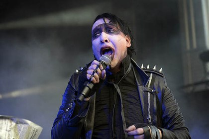 Marilyn Manson 1 Marilyn Manson performs Sunday at Stage AE.
