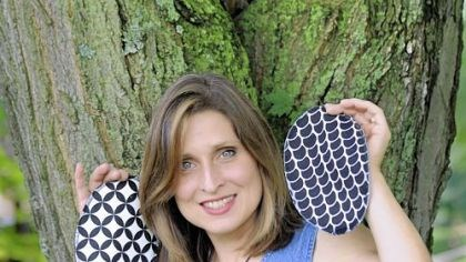 "Mary Beth Karchella-MacCumbee 3 Mary Beth Karchella-MacCumbee, who belongs to what she calls ""the cloth community,"" makes eco-friendly personal cloths (reusable toilet ""paper"")."