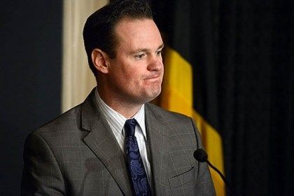 mayor's office on Wednesday Pittsburgh Mayor Luke Ravenstahl speaks about Police Chief Nate Harper's resignation at a press conference at the mayor's office on Wednesday.