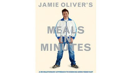 "'Meals in Minutes' ""Meals in Minutes,"" the latest book by Jamie Oliver."