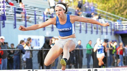 MH Hempfield freshman Maddie Holmberg: Her long jump of 18 feet, 11 inches at a meet last month is the third best in WPIAL history.