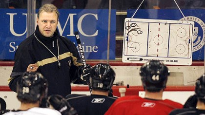 Michel Therrien Former Penguins head coach Michel Therrien would like to return to the NHL.