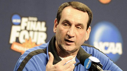Mike Krzyzewski Duke has gone to the Final Four 11 times under head coach Mike Krzyzewski.