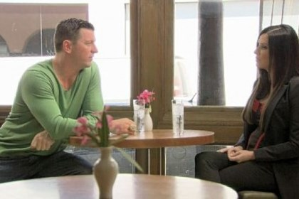"Mitch Berger and Patti Stanger Former Steelers punter Mitch Berger talks with Patti Stanger about finding love on Bravo's ""The Millionaire Matchmaker."""