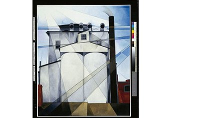 "'My Egypt' ""My Egypt,"" a 1927 work by Charles Demuth (American, 1883-1935)."