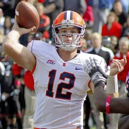 nassib Syracuse QB Ryan Nassib might be the key to today's Pinstripe Bowl.