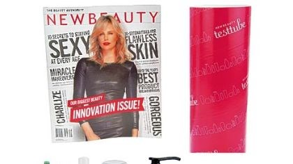 New Beauty magazine A last-minute gift idea: New Beauty magazine comes with nine test tube samples.