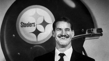 New coach Bill Cowher New Steelers coach Bill Cowher during a press conference at Three Rivers Stadium on Tuesday, January 21, 1991.