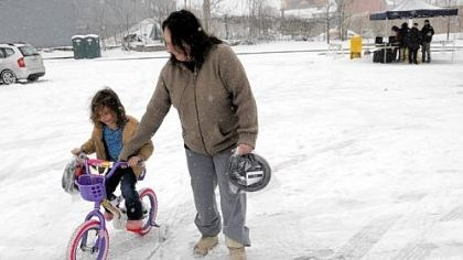 Donate Bikes In Pittsburgh New ride Snow tires would have