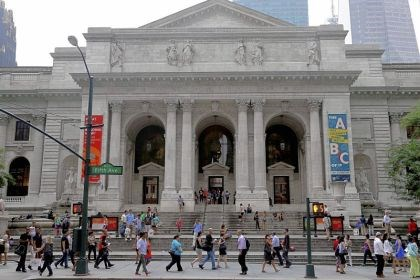 New York Public Library More than 2 million people visit the main branch of the New York Public Library every year.