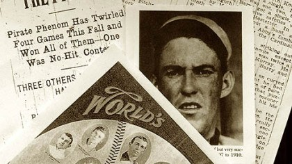Newspaper clippings Newspaper clippings of the day Nick Maddox pitched the very first Pirates' no-hitter on September 20, 1907.