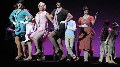 "North Hills North Hills High School students perform ""I Want to be Happy' from ""No, No Nanette"" at the Gene Kelly Awards."