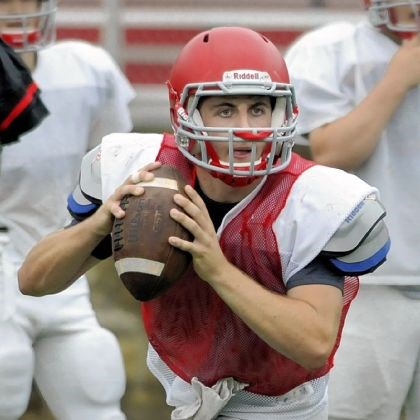 North Hills Junior quarterback Jake Bruder will take over the North Hills offense this season after Brian Johnson graduated.