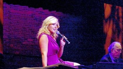 """Not So Plain Jane"" Jane Krakowski's cabaret performance followed an elegant dinner at the Pittsburgh Cultural Trust's ""Not So Plain Jane."""
