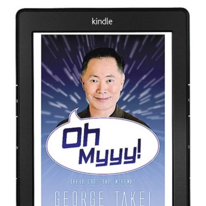 "ohh myy takei George Takei's e-book ""Ohh Myy: There Goes the Internet"" evokes the catch phrase he made famous as Mr. Sulu on ""Star Trek."""