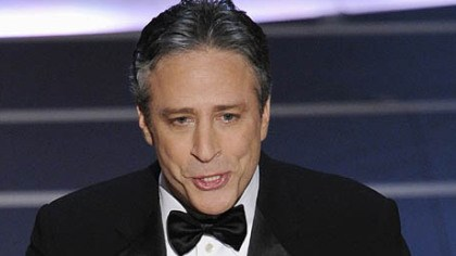 Oscar host Jon Stewart Oscar host Jon Stewart opens the 80th Academy Awards telecast last night in Los Angeles.