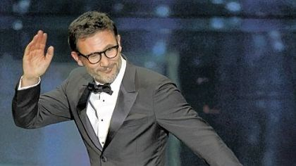 "Oscars - Best director Michel Hazanavicius won best director for ""The Artist."""