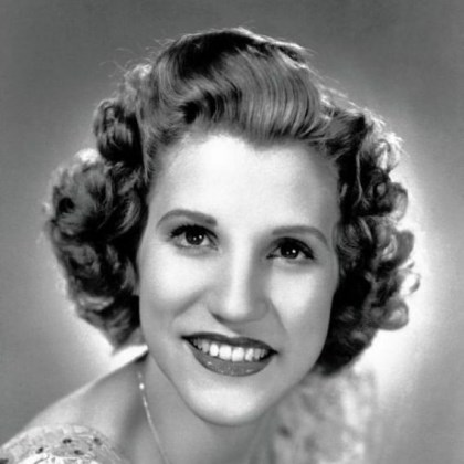 Patty Andrews This 1942 file photo shows singer Patty Andrews, the last survivor of the three singing Andrews sisters, who has died in Los Angeles at age 94.