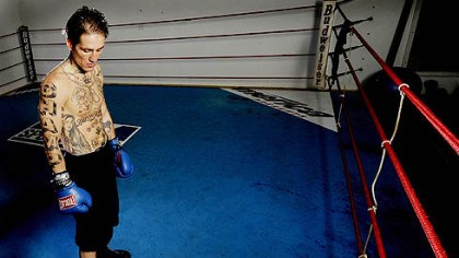 Paul Spadafora Paul Spadafora at his training camp in LaPorte, Ind., this week. Why out-of-the-way LaPorte? Because it represents a haven from his temptations.