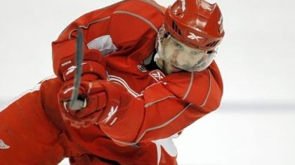 Pavel Datsyuk practices Pavel Datsyuk practices yesterday in Detroit and is expected to play tonight in G