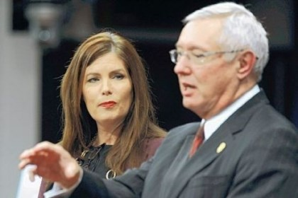 Pennsylvania Attorney General Kathleen Kane Pennsylvania Attorney General Kathleen Kane, left, and Pennsylvania State Police Commissioner Frank Noonan conduct a news conference Wednesday in Harrisburg.