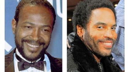 People: Lenny Kravitz Marvin Gaye, left, will be portrayed by Lenny Kravitz in a biopic that will be shot next year.