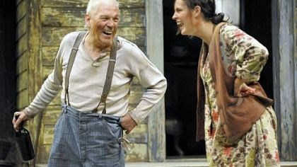 "Performer of the Year Tom Atkins led a lisat of best supporting actors for his performance as the crusty father to Beth Wittig in Pittsburgh Public Theater's production of ""A Moon for the Misbegotten."""