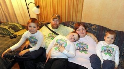 Perlick family Robert and Dawna Perlick of Rochester with their three sons, from left, R.J., 8, Joseph, 5, and Tommy, 7. Robert Perlick, 40, was given an artificial heart pump in 2009 due to severe heart failure caused by a virus.