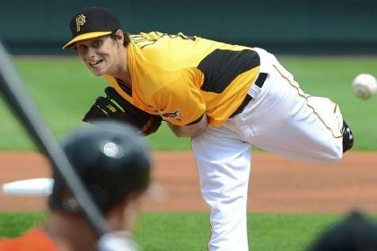 Pirates and Locke Left-hander Jeff Locke, showing his form in a March preseason game, will return to the mound Saturday against the St. Louis Cardinals.