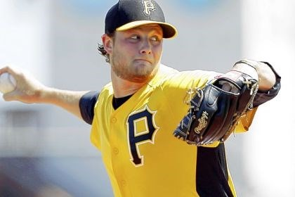 Pirates' top prospect Gerrit Cole The Pirates' top prospect Gerrit Cole, who will make his major league debut next week.