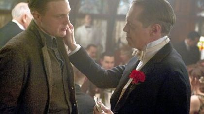 "Pitt and Buscemi in ""Boardwalk Empire"" Michael Pitt and Steve Buscemi star in ""Boardwalk Empire."""