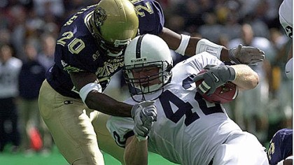 Pitt-PSU Pitt and Penn State, which last played a football game in 2000 in Three Rivers Stadium, said today they will play each other each year from 2016 through 2019.