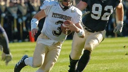Pitta Pitt quarterback Tyler Palko against Notre Dame in 2004.