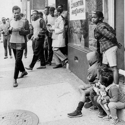 Pittsburgh 1968 In this April 10, 1968, photo, Homewood-Brushton activists sent teams of young men wearing red vests into the Pittsburgh neighborhood to urge calm following violence in the wake of Martin Luther King Jr.'s assassination.