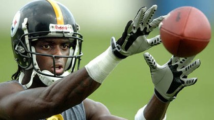 Plaxico Burress file catch Former Steelers receiver Plaxico Burress.