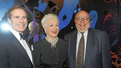 "Point Park Rocks Starmakers Paul Hennigan, Shirley Jones and Richard Rauh at Point Park University ""The Playhouse Rocks Starmakers"""
