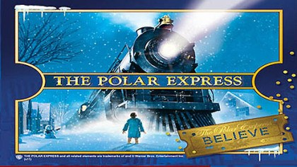 "Polar Express The Durbin & Greenbrier Valley Railroad is one of 30 officially licensed ""Polar Express"" Train Ride events nationwide ."