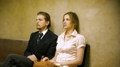 "Projedcting Hope Film Festival Barry Pepper and Mira Sorvino play a husband and wife dealing with his release from prison in ""Like Dandelion Dust."""