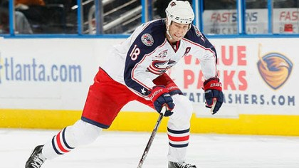 R.J. Umberger Blue Jackets forward RJ Umberger has 19 points this season.