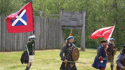 Re-enactment About 75 re-enactors will re-create the Cherokee Council on June 21-22 at the rebuilt site of Fort Loudoun. The fort was named for John Campbell, who was the fourth Earl of Loudoun and became commander of British forces in North America in July 1756.