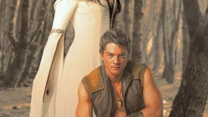 "Regan and Horner in 'Legend of the Seeker' Bridget Regan and Craig Horner in ""Legend of the Seeker."""
