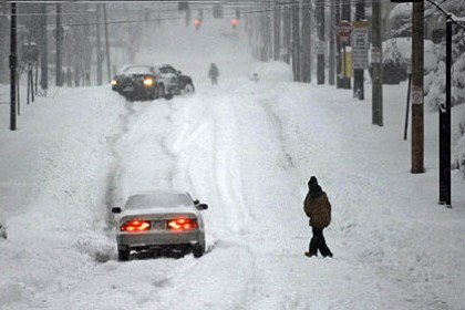 Remember 2010? Remember scenes such as this from Center Street in Wilkinsburg in February 2010? The Farmers' Almanac is predicting another snowy season this winter.