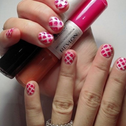 Revlon Nail Art polishes Nail art created with Revlon Nail Art polishes.