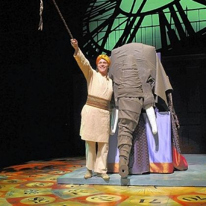 "Richard B. Watson Richard B. Watson portrayed the elephant driver in ""Around the World in 80 Days"" at Pittsburgh Public Theater, where Michael Schweikardt's board-game floor made for great scenic design."