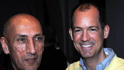 Richard Parsakian and Cyrus Erickson Richard Parsakian and Cyrus Erickson.