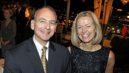 Rick Wiedman and wife Lisa Board president Rick Wiedman and wife Lisa.