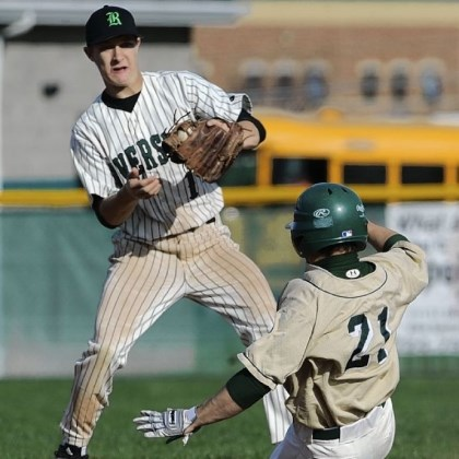 Riverside Baseball Second baseman Devin Kelosky is one of many experienced seniors returning for Riverside this season.